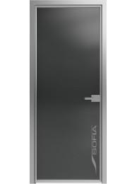 1000 Линий Прозрачный черный (T13) Серебро