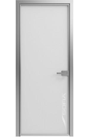 1000 Линий Матовый белый (T15) Серебро