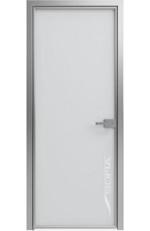 1000 Линий Матовый лед (T17) Серебро