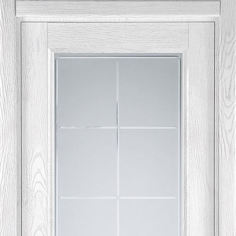 Sofia Classic 35.51 цвет Ясень белый, брашированный шпон