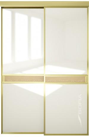 Scala A4 со вставкой 03 Светлый дуб